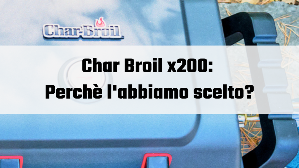 char-broil X200 Grill2go Portable Grill