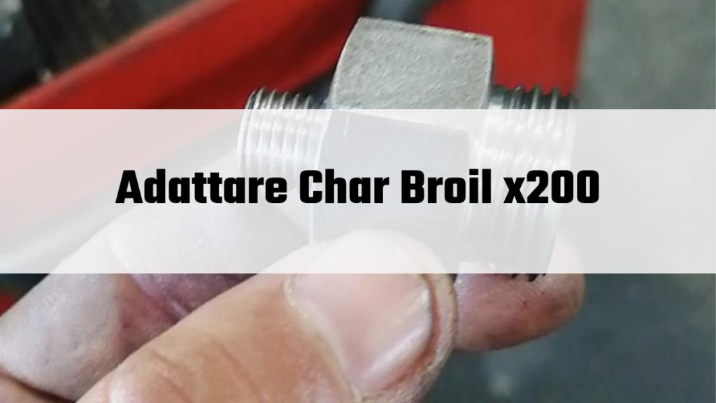 Adattare Char Broil X200