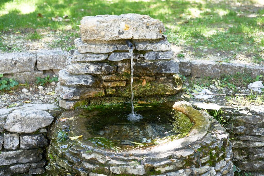 Sorgenti del fiume verde fontana