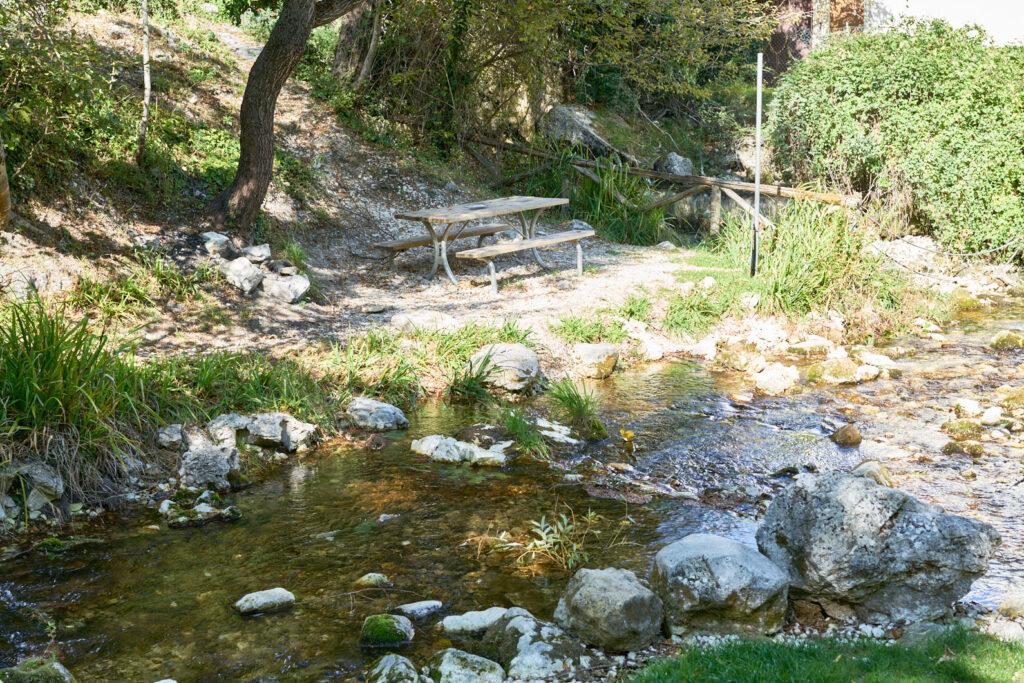 Sorgenti del fiume verde panche 2