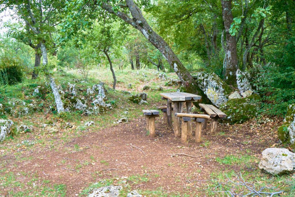 area attrezzata barbecue Roccamontepiano 14