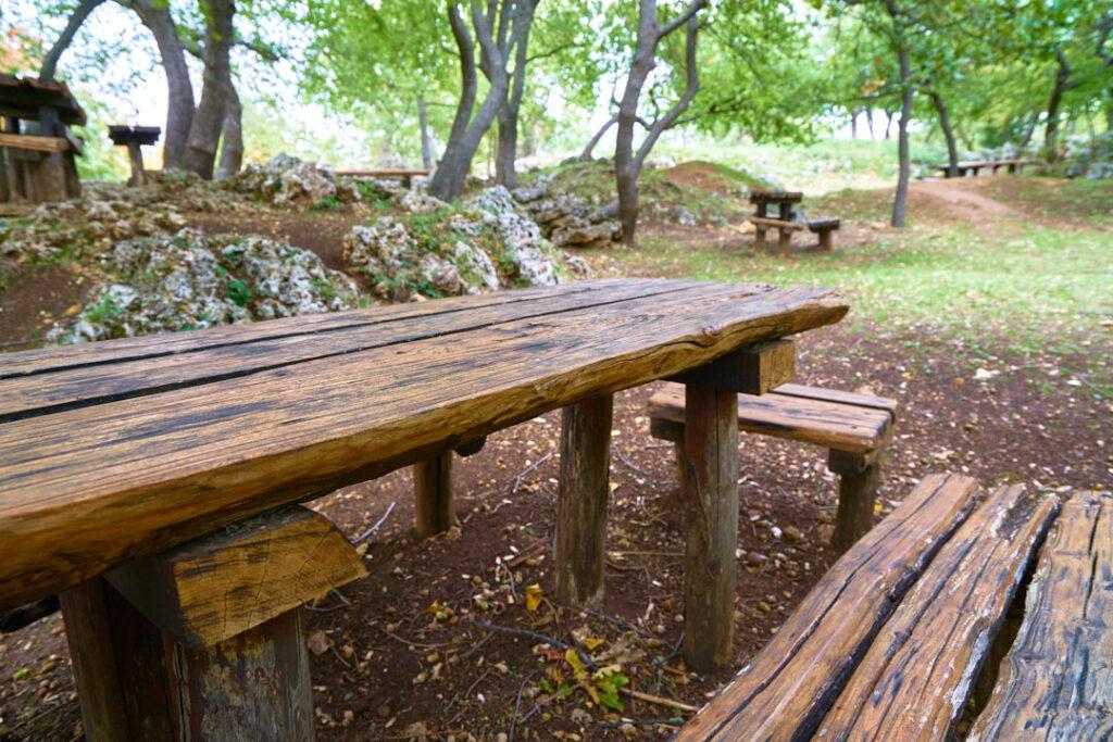 area attrezzata barbecue Roccamontepiano 3
