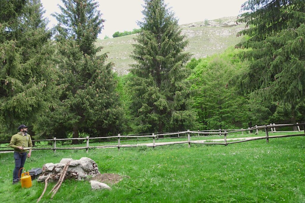 area barbecue montagna spaccata 2