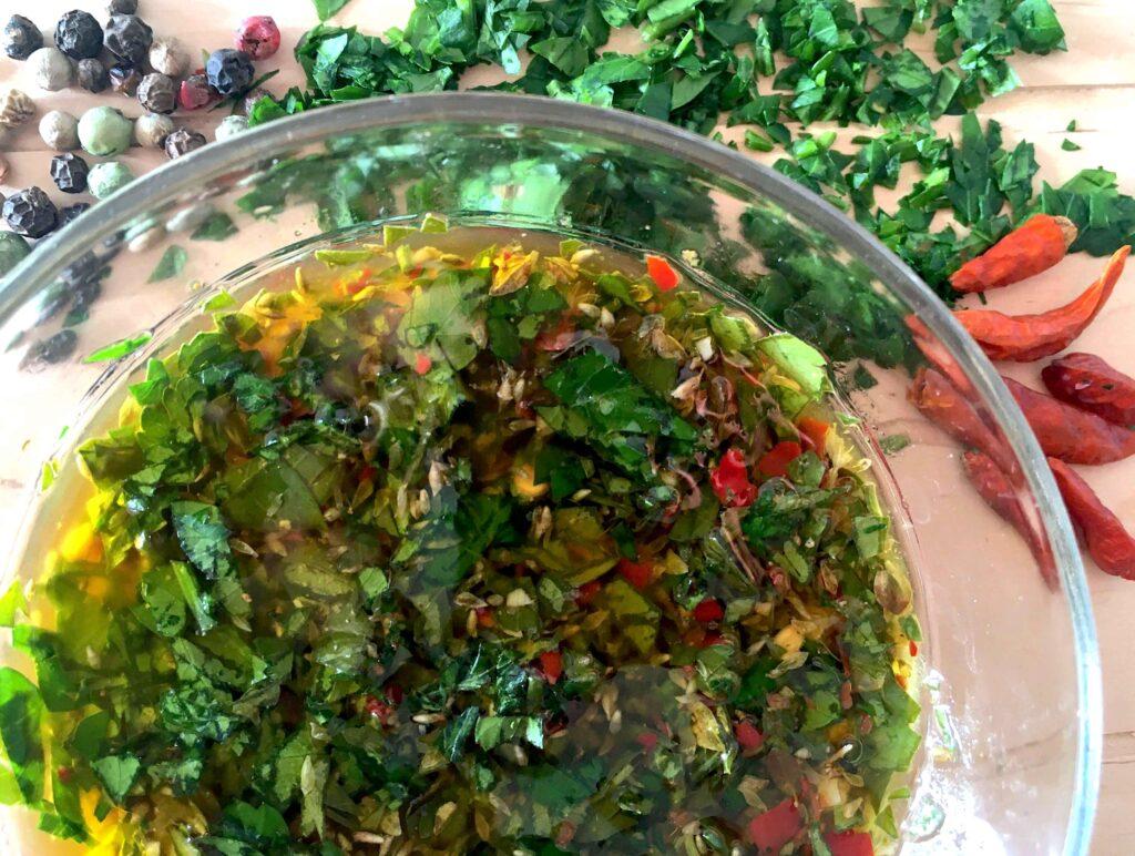 salsa chimichurri abruzzobbq