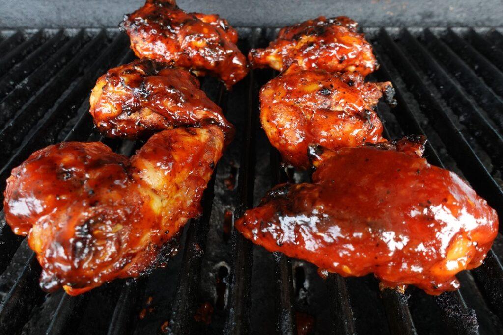 pollo in salsa bbq al miele 3