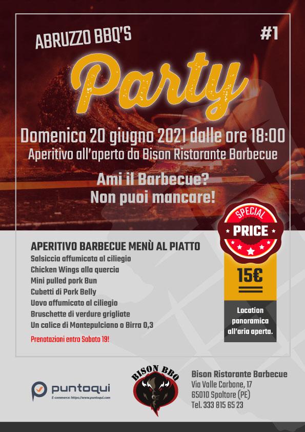 Aperitivo Abruzzo BBQ