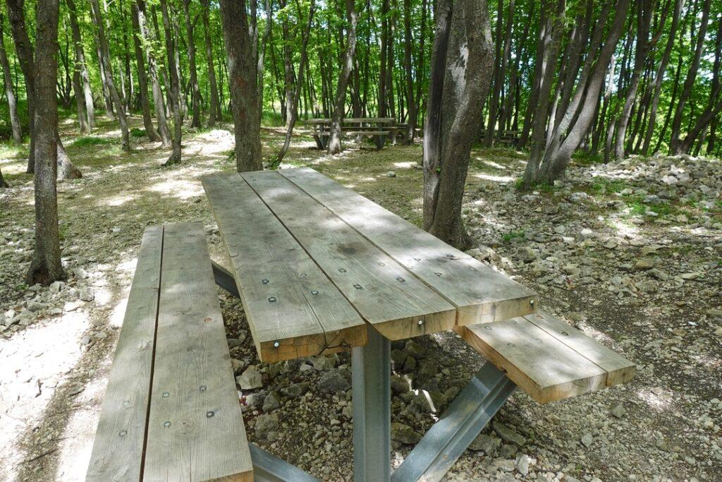 area pic nic piana del legname