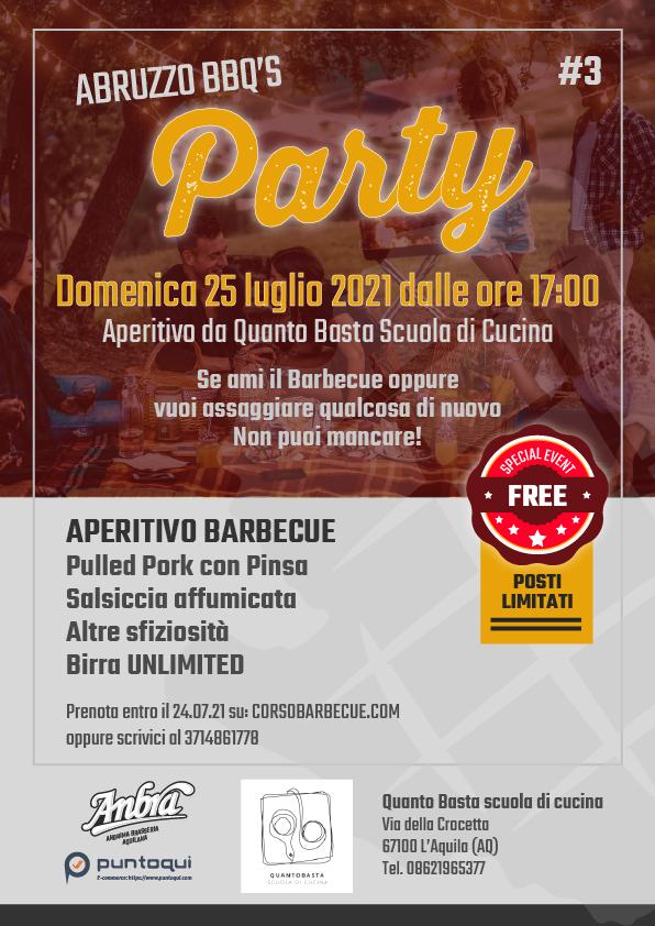 Aperitivo Barbecue Abruzzo BBQ